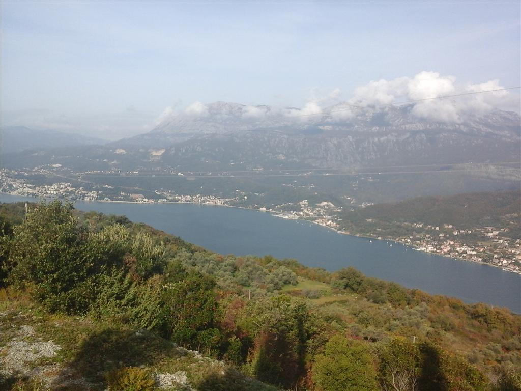 Герцег Нови, Луштица — Забрдже, строительный участок 3.916m2, с панорамным видом на море