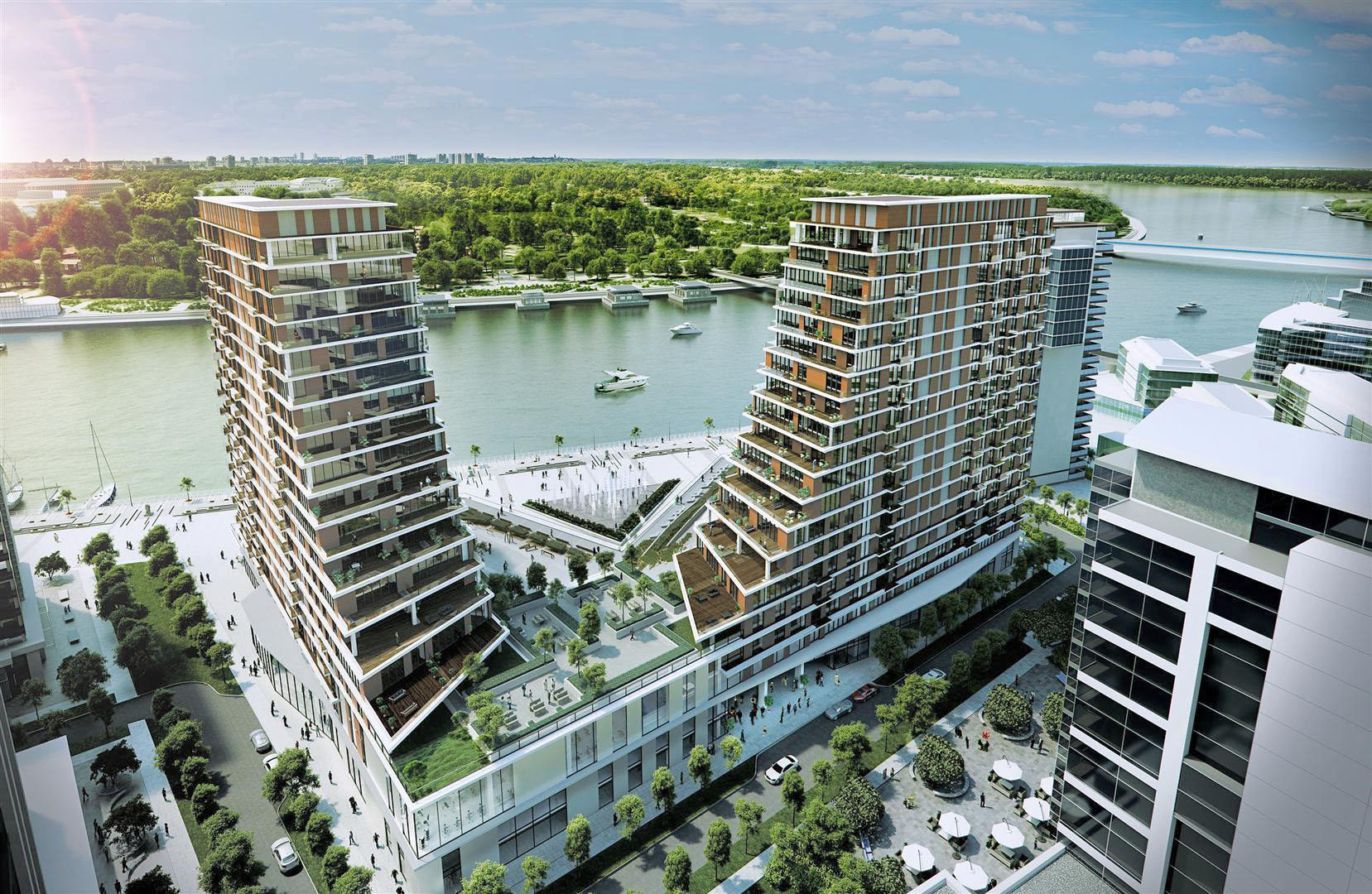 Belgrade Waterfront Residences – luxury apartments with one, two or three bedrooms