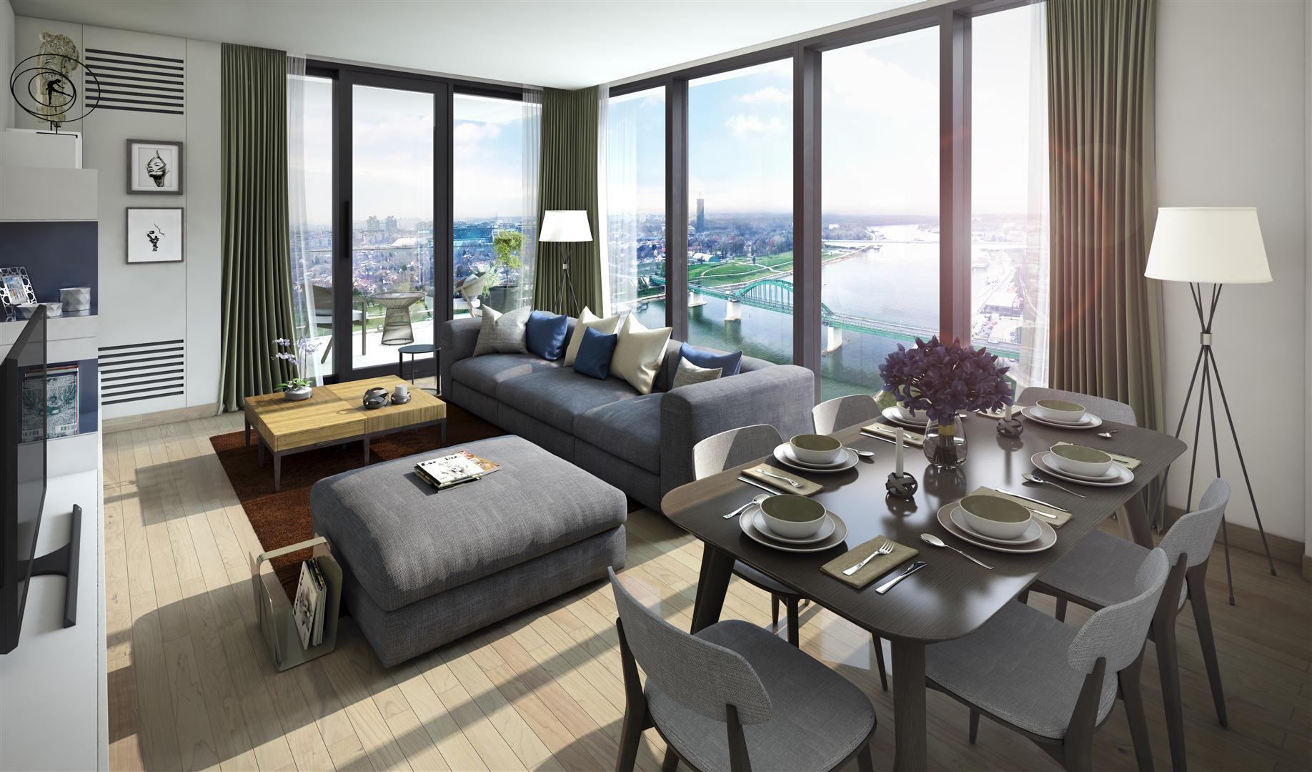 Belgrade Waterfront Residences Luxury Apartments With One Two Or Three Bedrooms