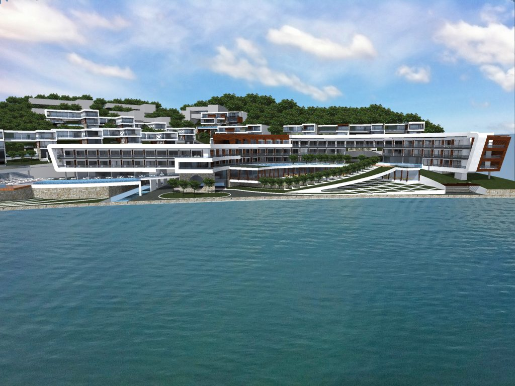 Kotor, Prčanj – urbanizovano zemljište za turistički kompleks, na prvoj liniji do mora