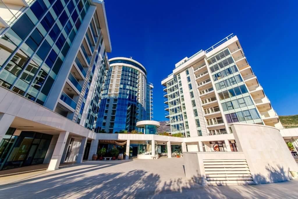 Budva, Tre Canne – jednosoban apartman 77m2, s pogledom na more