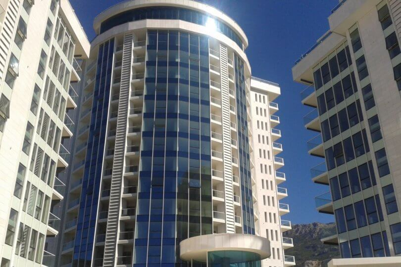 Budva, Tre Canne – one bedroom apartment of 77m2, with sea views