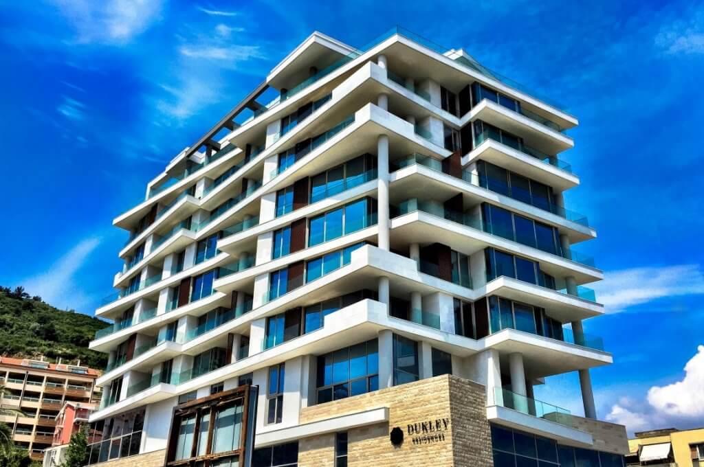 Budva, Dukley Residences – apartments 58m2- 203m2