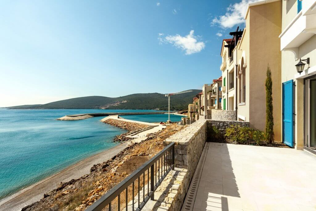 Tivat, Lustica Bay – two bedroom apartment 93m2, 10m away from the sea