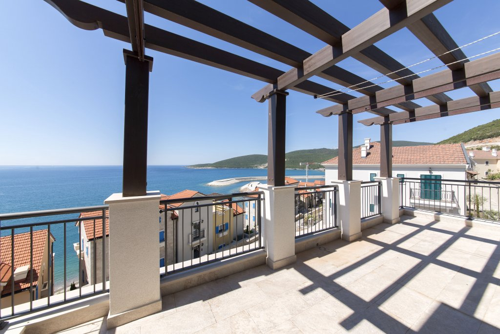 Tivat, Lustica Bay – one bedroom apartment with large terrace and a swimming pool