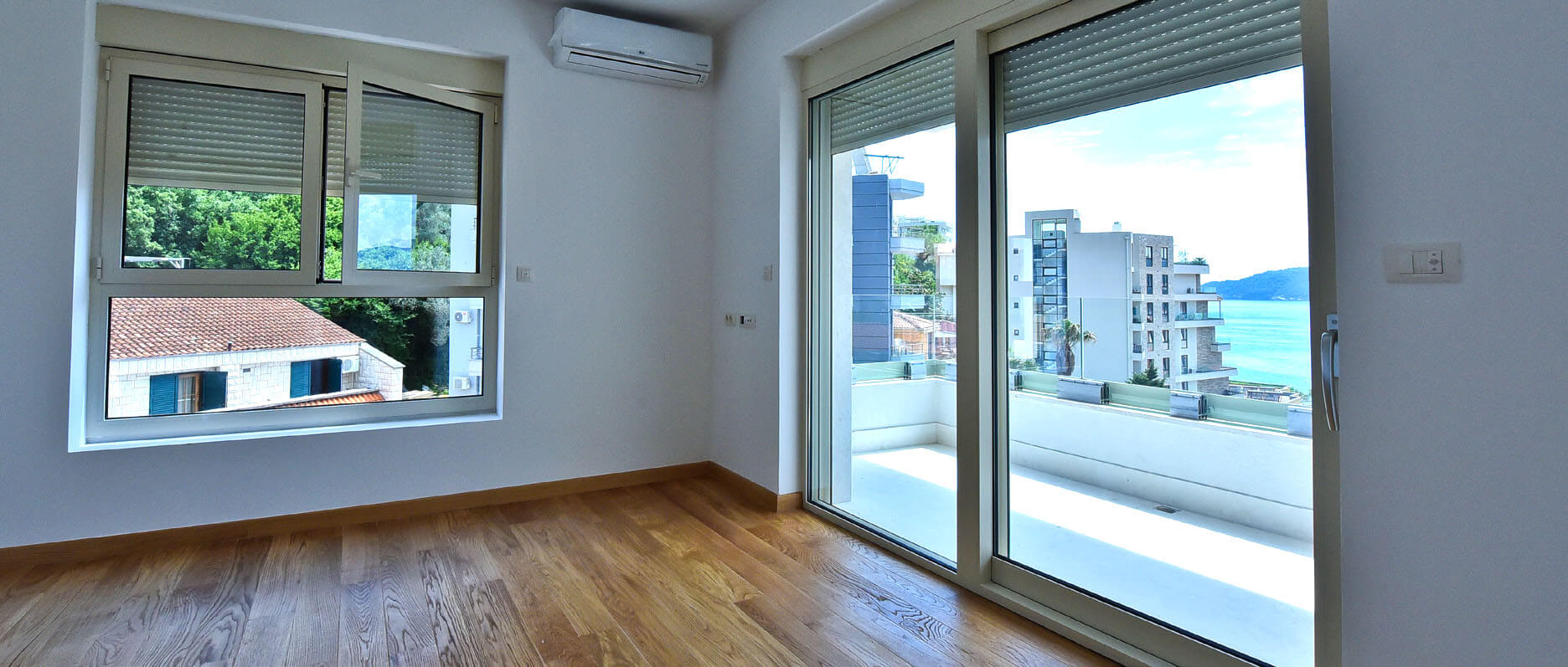 Budva, Rafailovići – new one bedroom apartment 44m2, with sea view