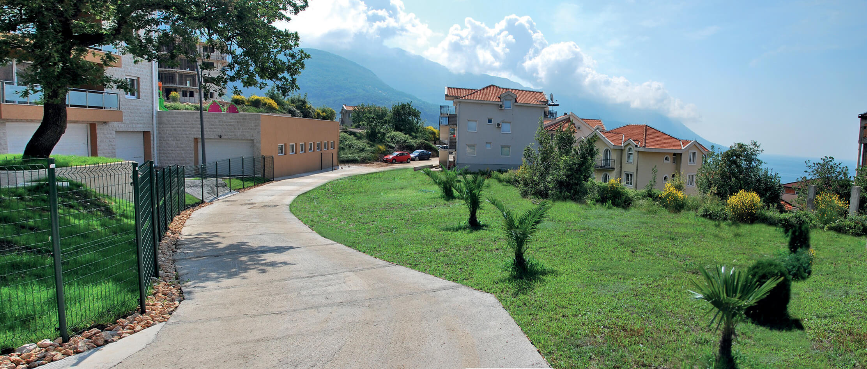 Budva, Becici – urbanized land 1,797m2, above Splendid hotel