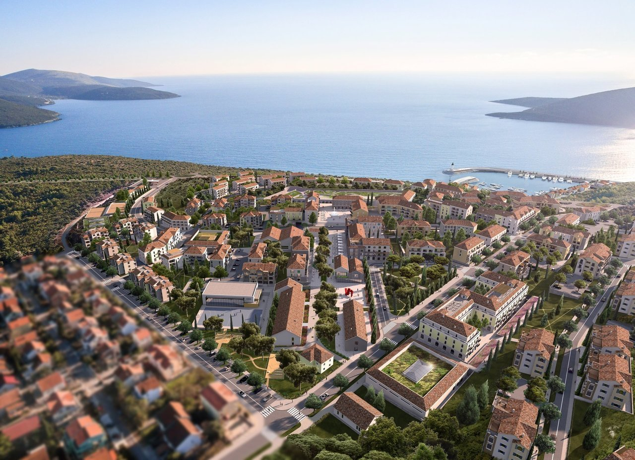 Tivat, Lustica Bay – apartments in the new part of the complex, Centrale