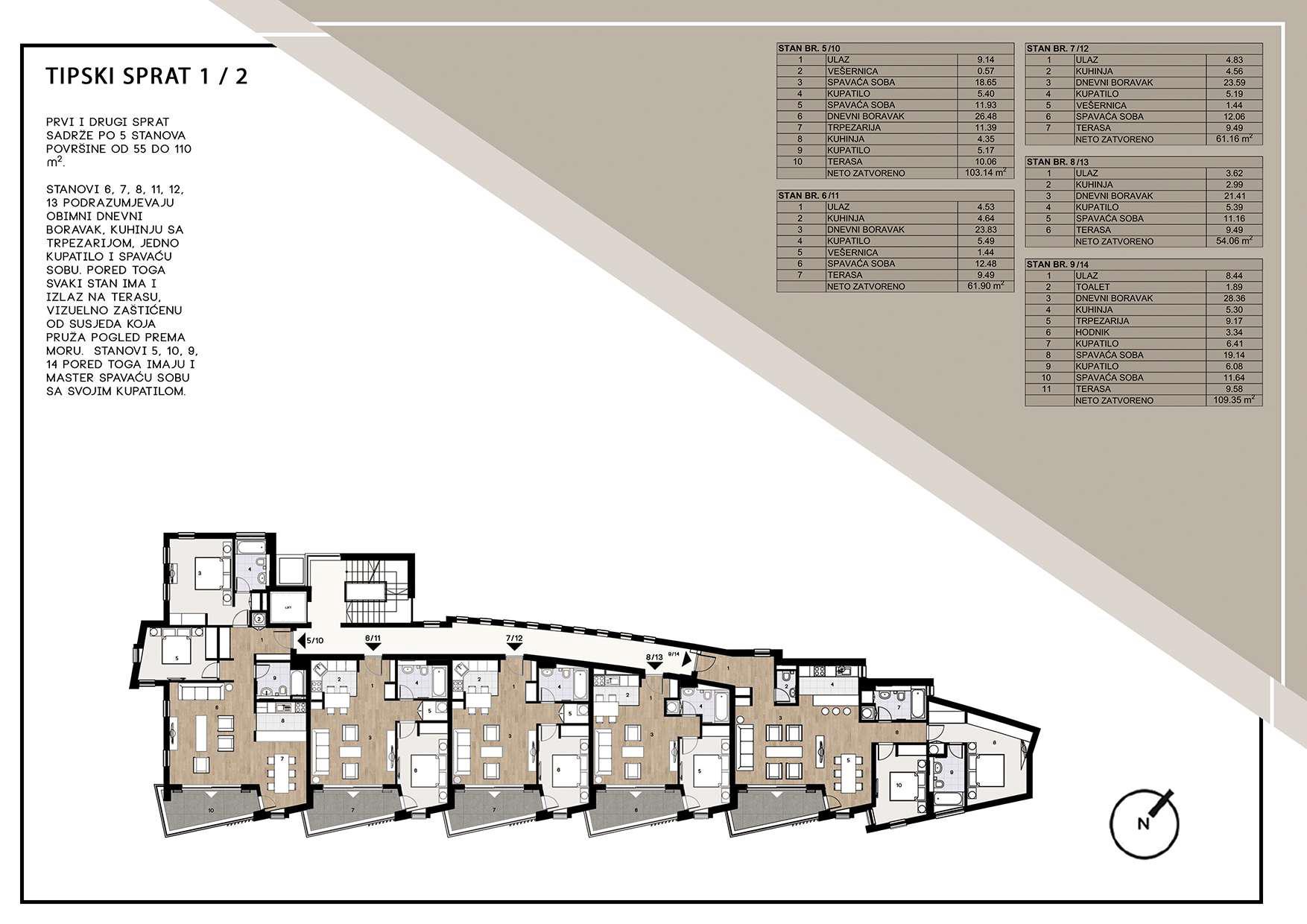 Tipski sprat1 2 Top Result 50 New 7 Bedroom House Plans Gallery 2017 Hgd6
