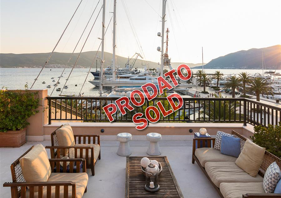 Tivat, Porto Montenegro – unique apartment 479sq m, with open sea view