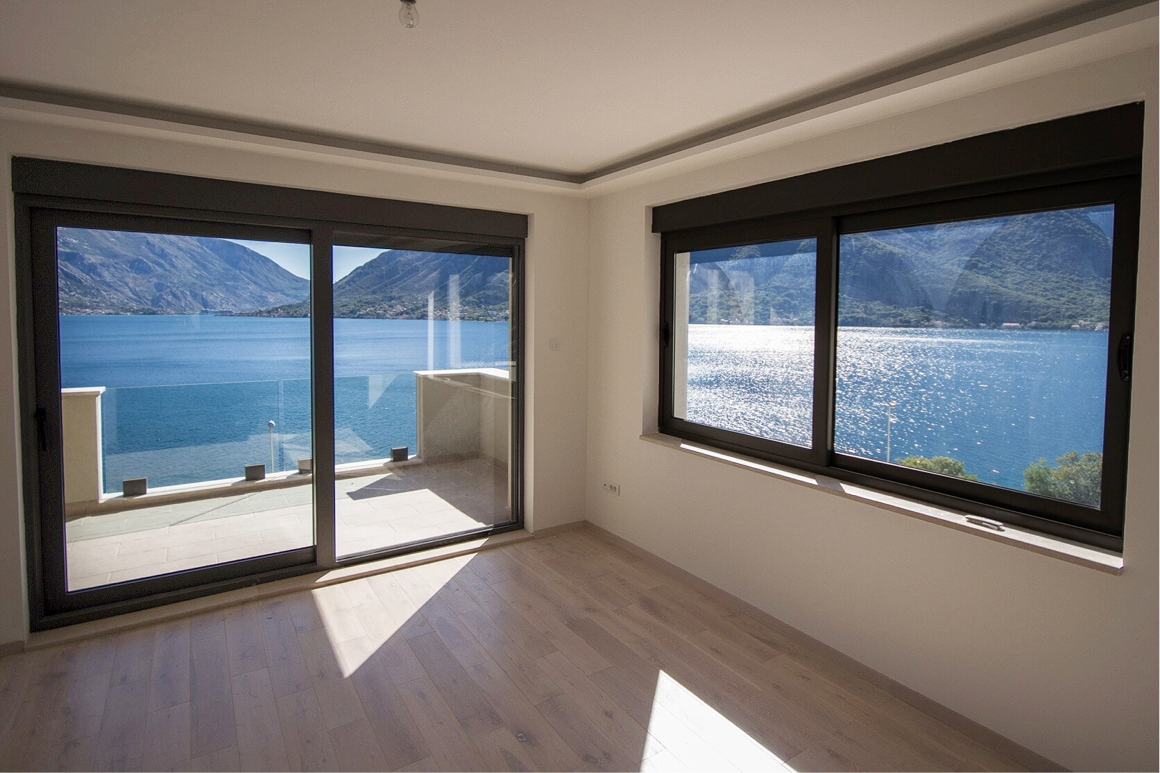 Котор, Дражин Врт — роскошные апартаменты с двумя спальнями, 94 м2, рядом с морем
