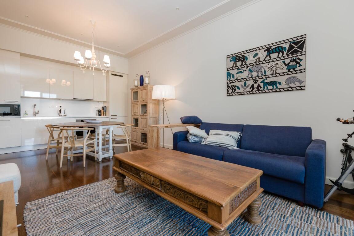 Тиват, Порто Черногория — двухкомнатная квартира площадью 66 м2, резиденция Тара