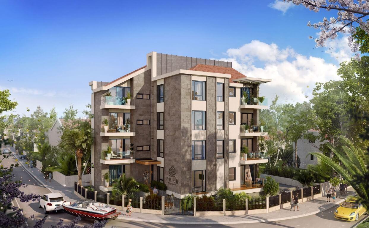 Тиват, центр — апартаменты класса люкс рядом с комплексом Porto Montenegro