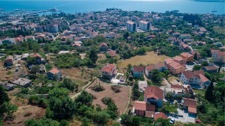 Tivat, Seljanovo – urbanized land, 1.750m2, with sea view