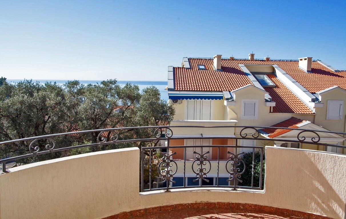 Budva, Sveti Stefan – one bedroom apartment 50m2, with sea view