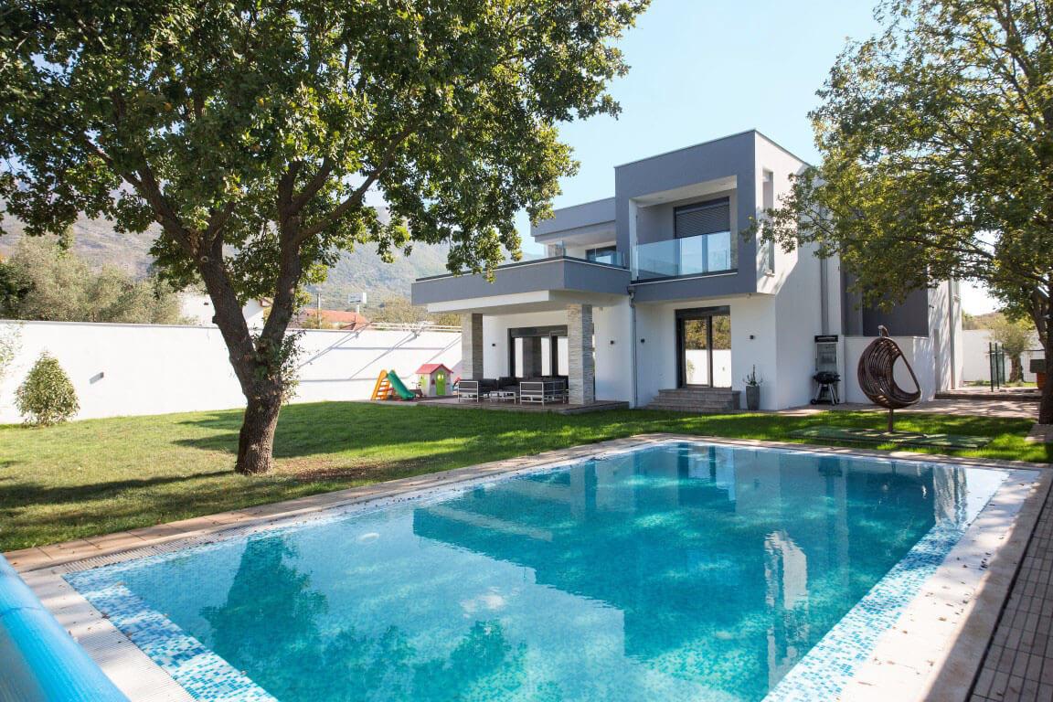 Kotor, Radanovici – stunning two-storey inland villa, with rich nature surrounding