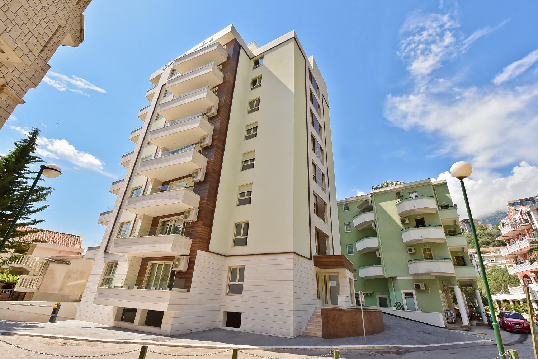 Budva, Rafailovići – nov dvosoban apartman 54m2, sa pogledom na more