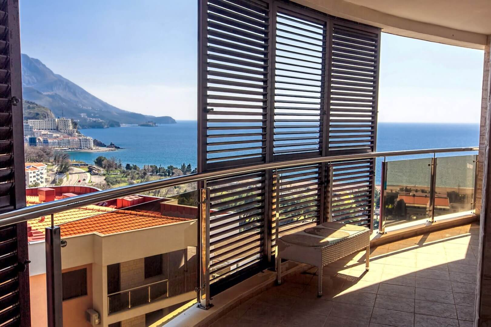 Budva, Becici – new one bedroom apartment 57m2, with sea view