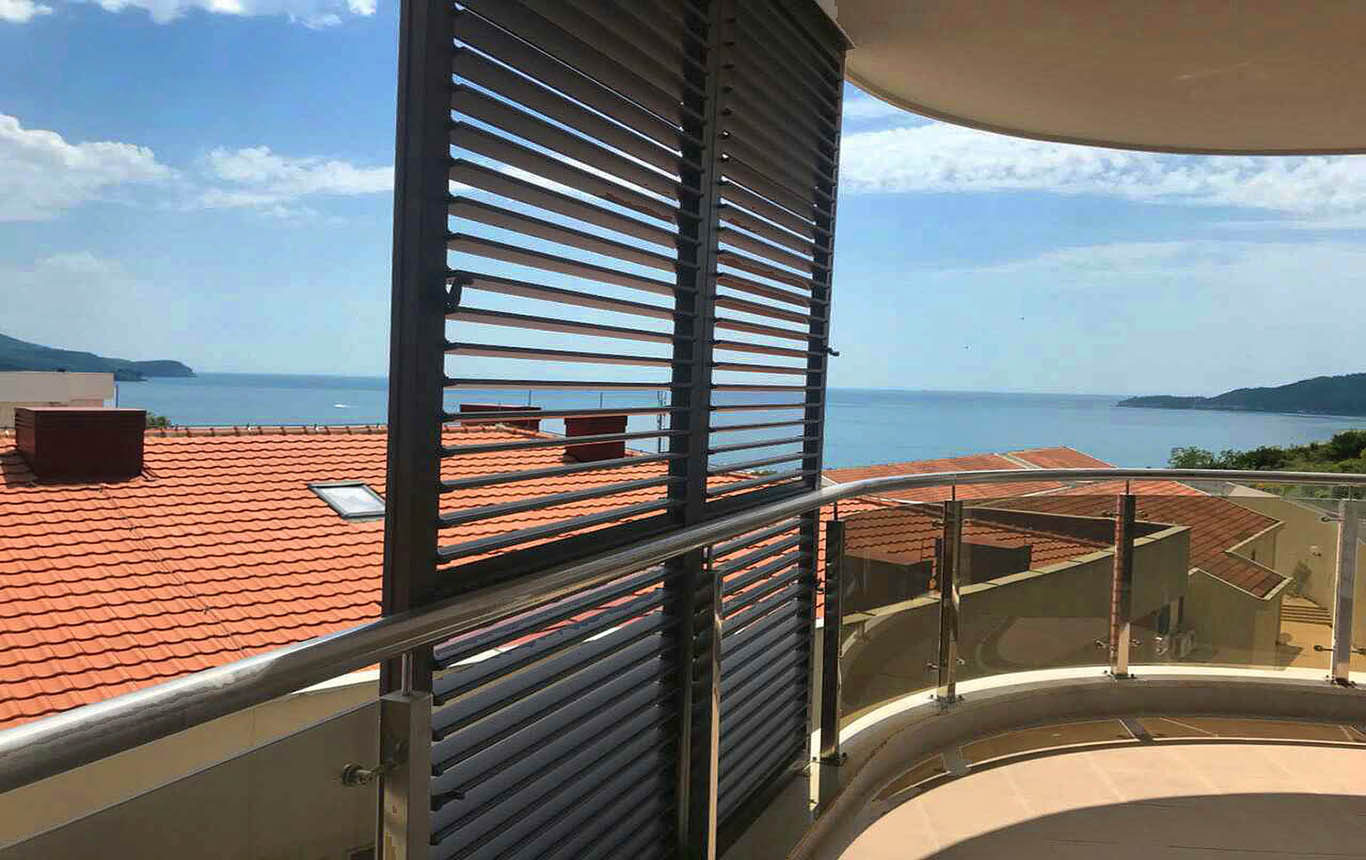 Budva, Becici – new one bedroom apartment 52m2, with sea view