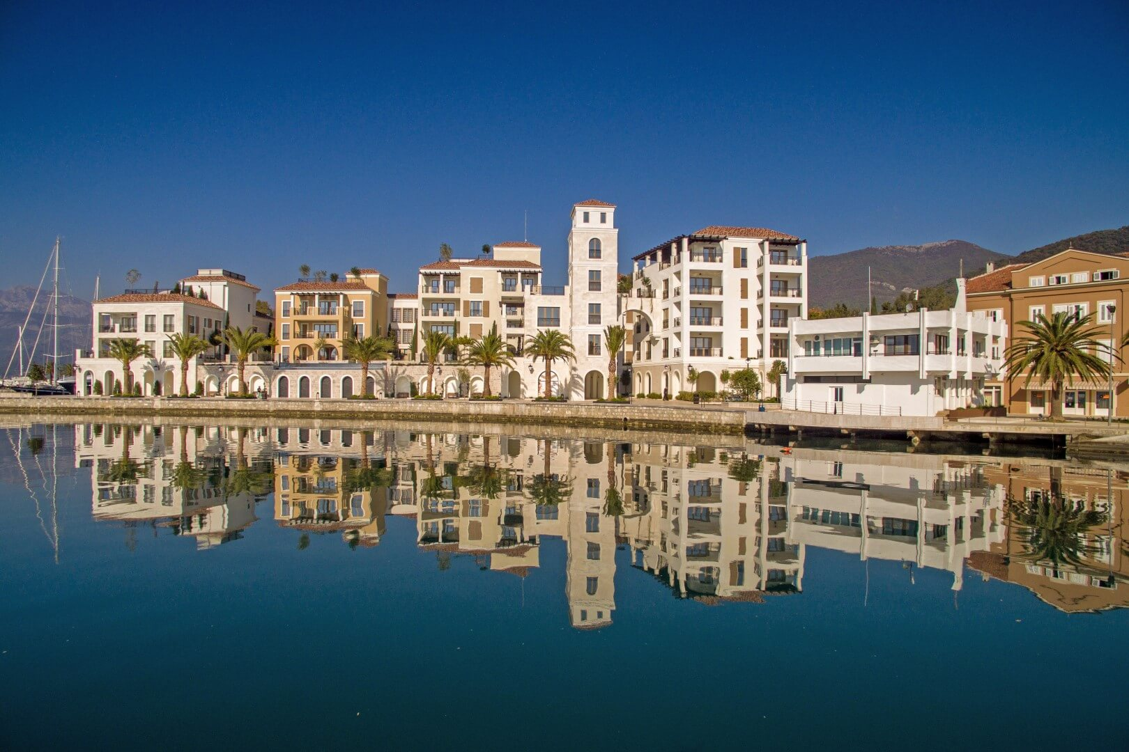Tivat, Porto Montenegro - dvosoban stan s otvorenim pogledom na more