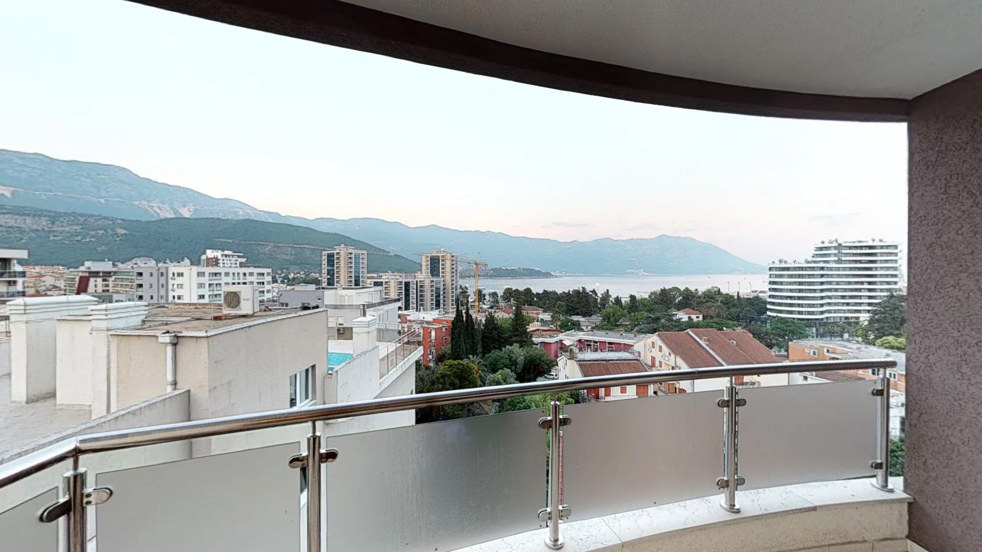 Budva, Gospoština – three bedroom apartment 83m2, with panoramic sea view