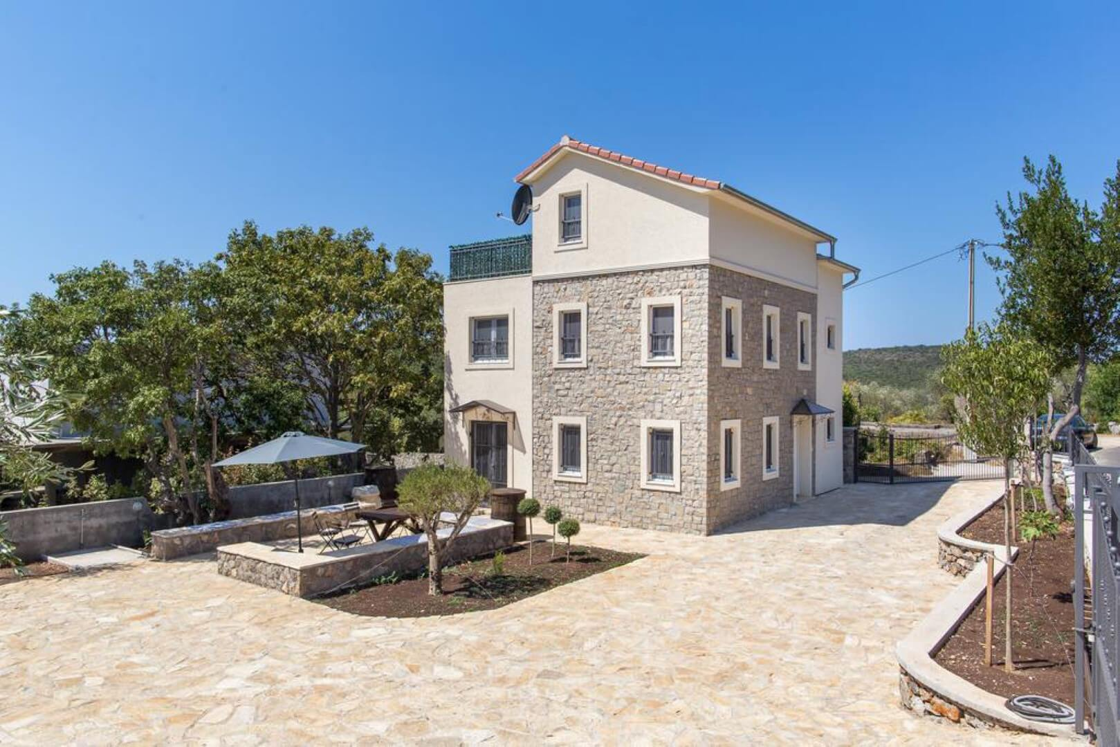 Herceg Novi, Lustica – new countryside house, close to Žanjica and Mirište beaches