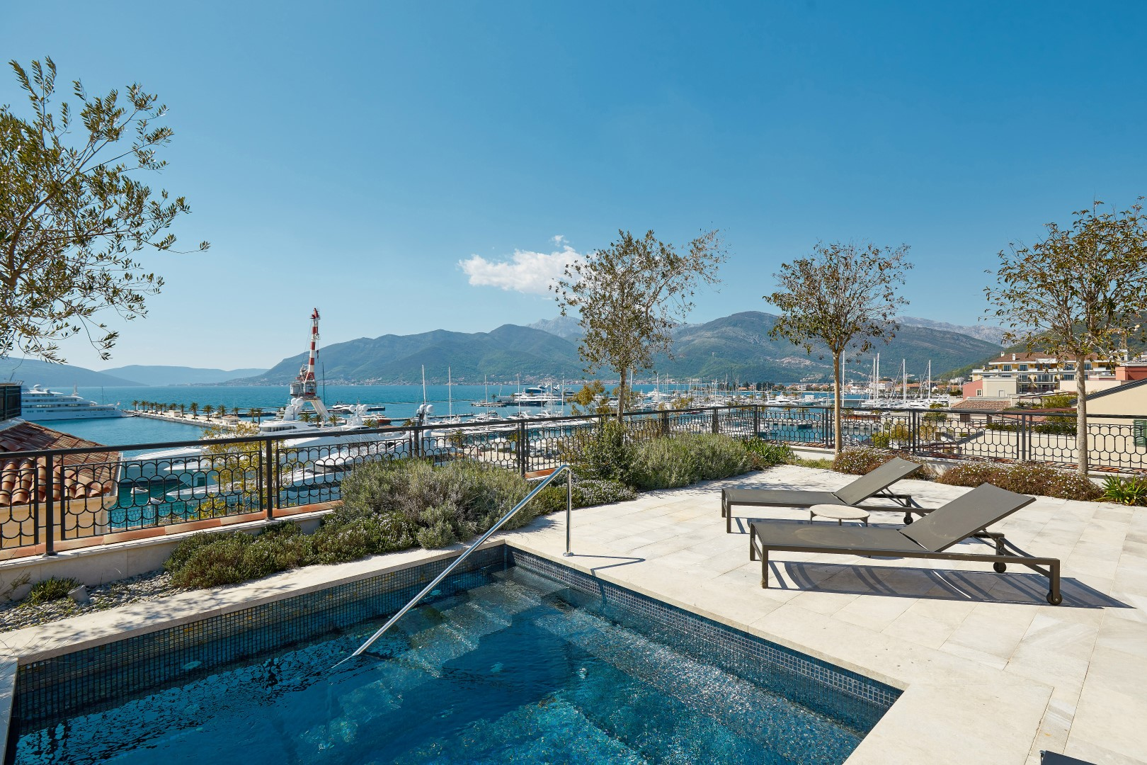 Tivat, Porto Montenegro – four-bedroom penthouse apartment, with private pool, Ksenija