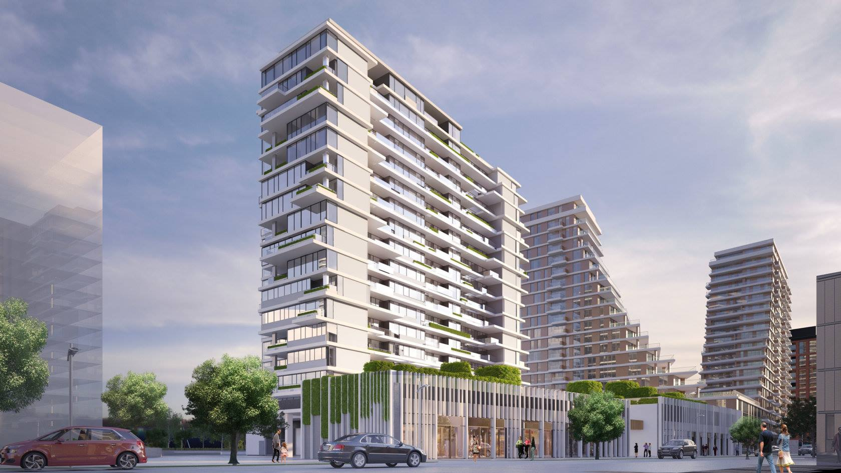 Belgrade Waterfront, Terraces - luxury apartments on the riverfront