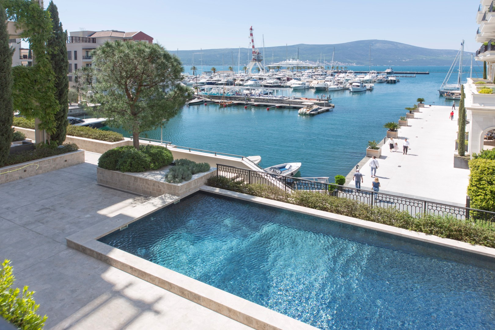 Tivat, Porto Montenegro – three bedroom apartment with open sea view