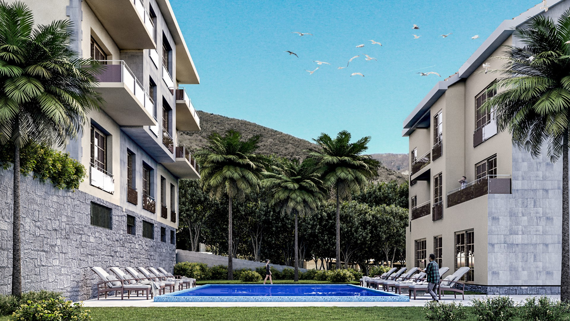 Tivat, Krtole – exclusive residential complex, 20m from the sea