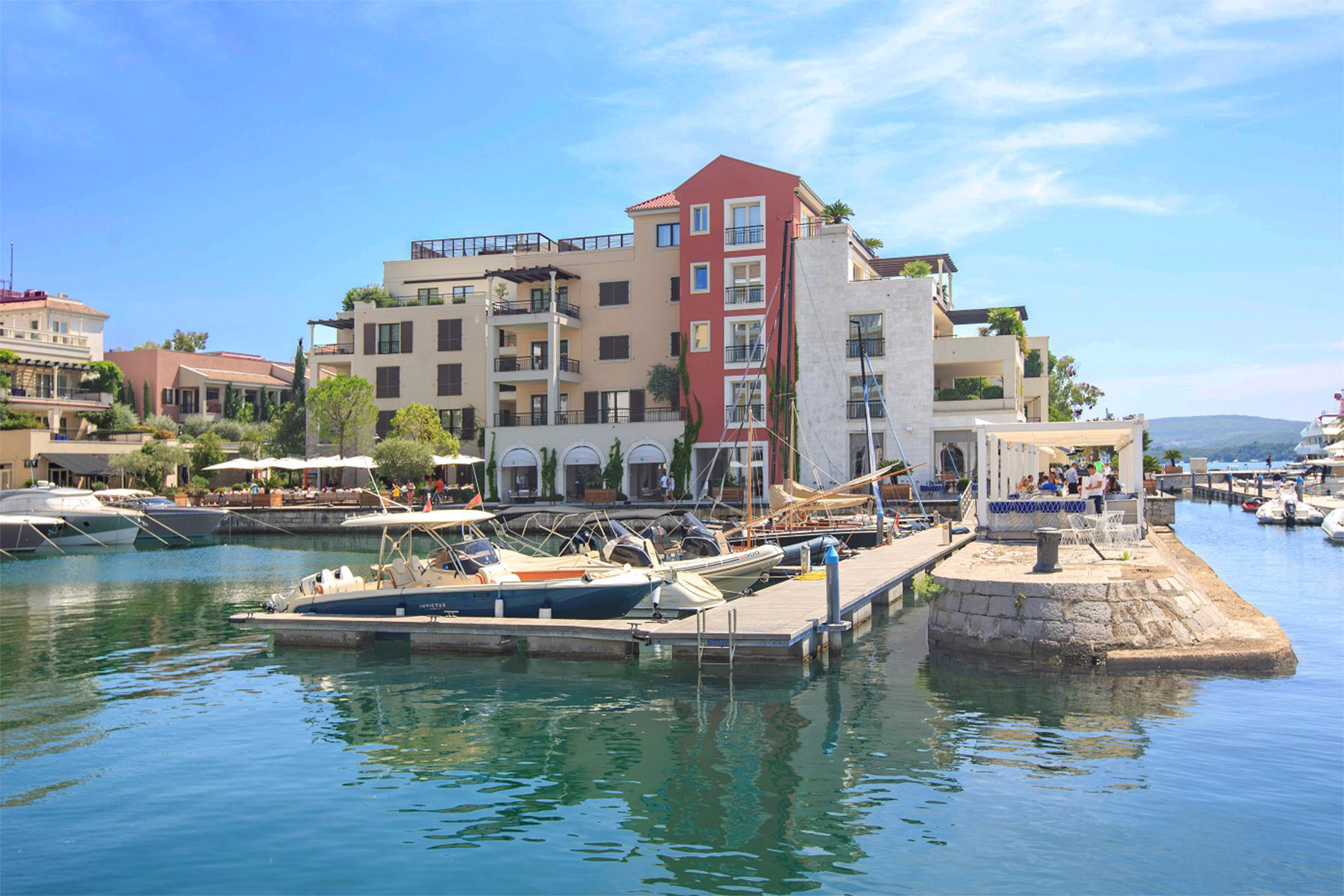 Tivat, Porto Montenegro – two bedroom apartment with open sea views