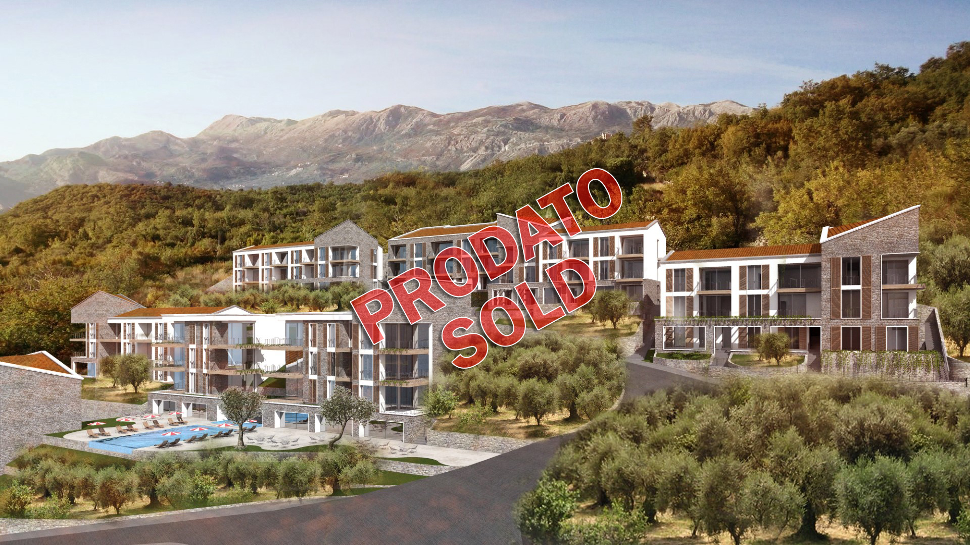 Budva, Rezevici – urbanized plot 10,556m2, at extraordinary location