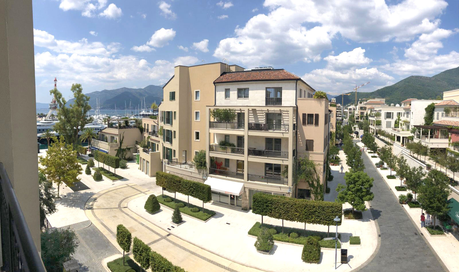 Tivat, Porto Montenegro – one bedroom apartment overlooking the marina and the promenade