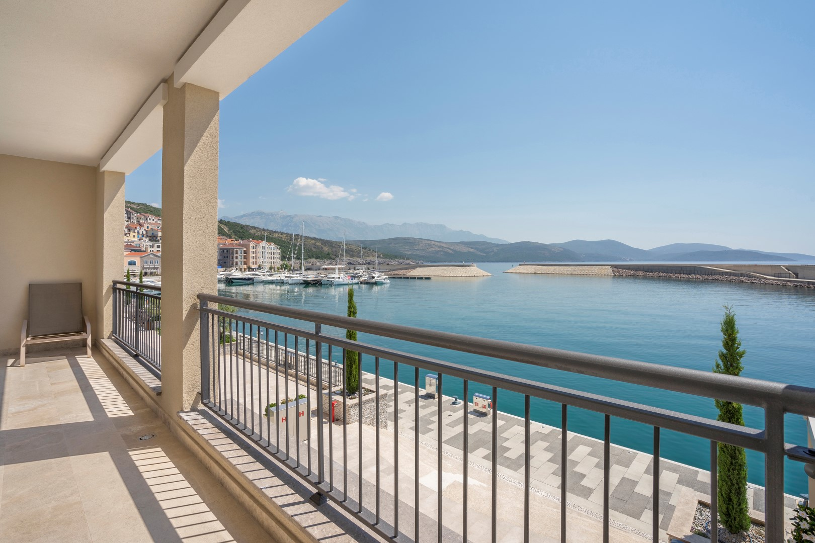 Tivat, Lustica Bay – seafront one bedroom apartment, on the promenade