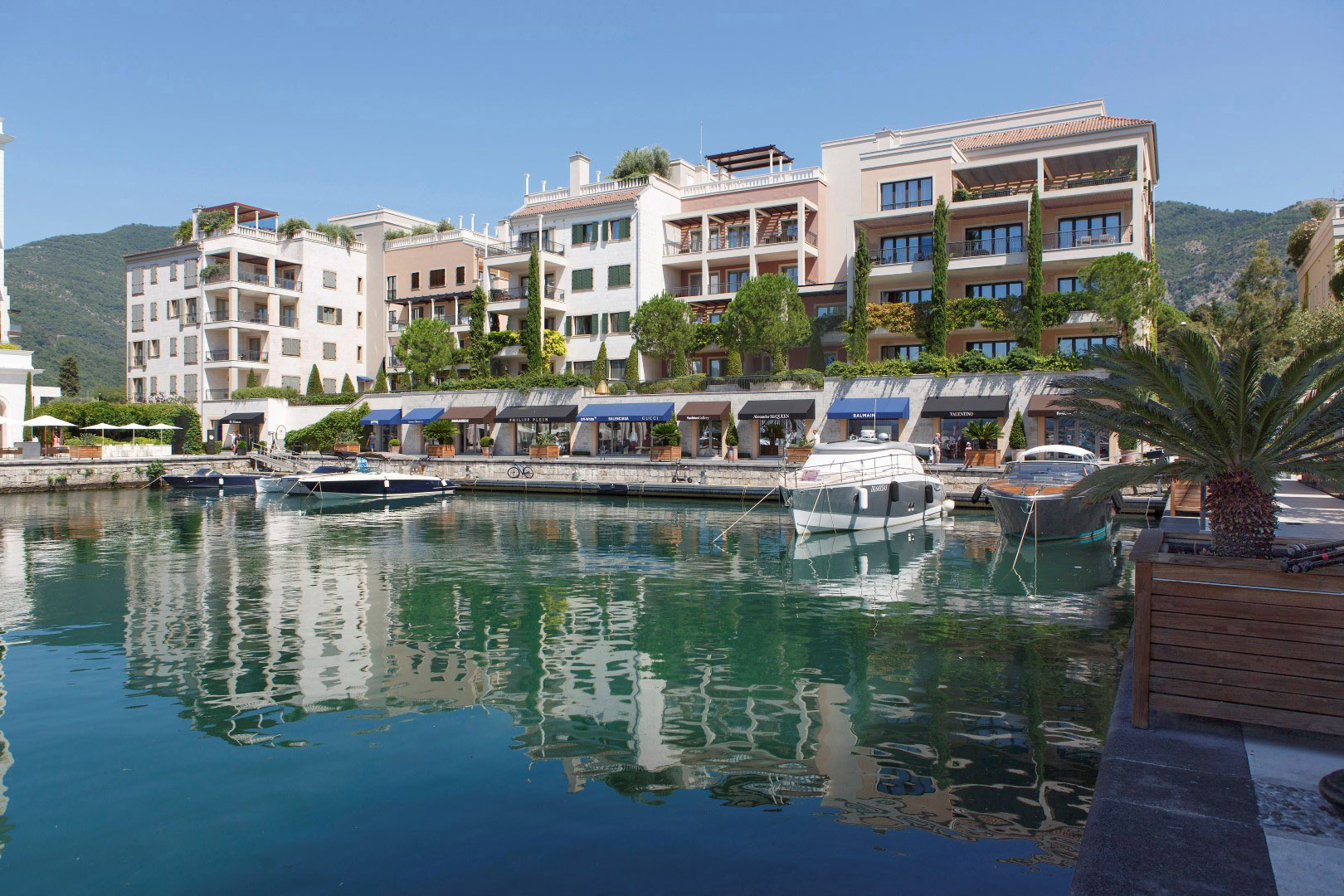 Tivat, Porto Montenegro- one bedroom apartment with sea views, Tara building