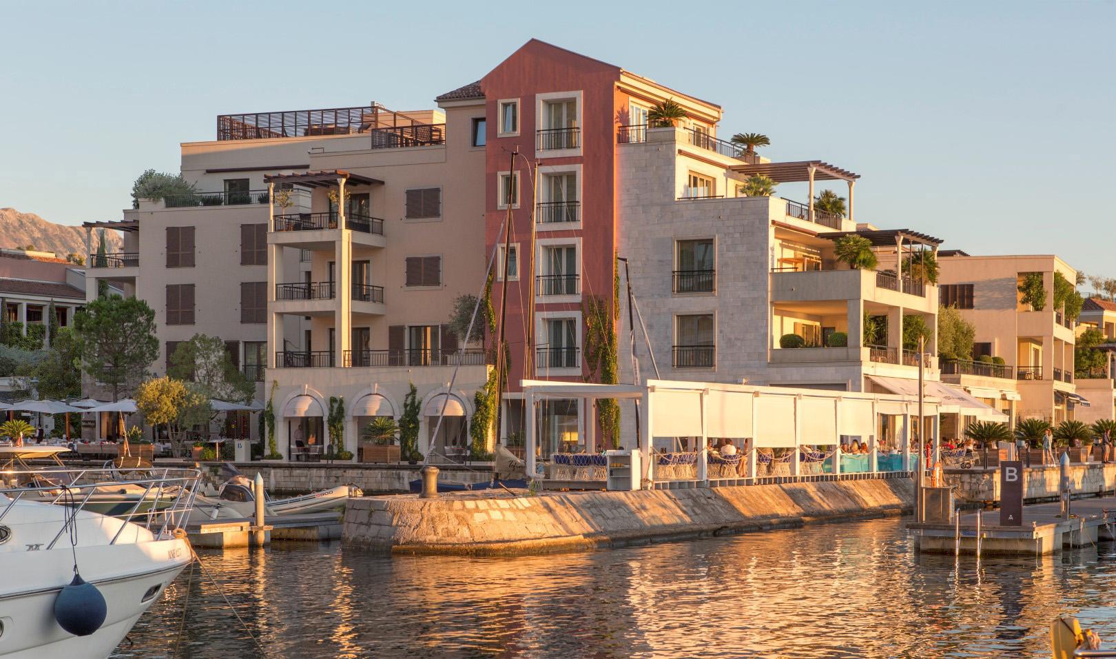 Tivat, Porto Montenegro – ekskluzivan dvosoban apartman s pogledom na more