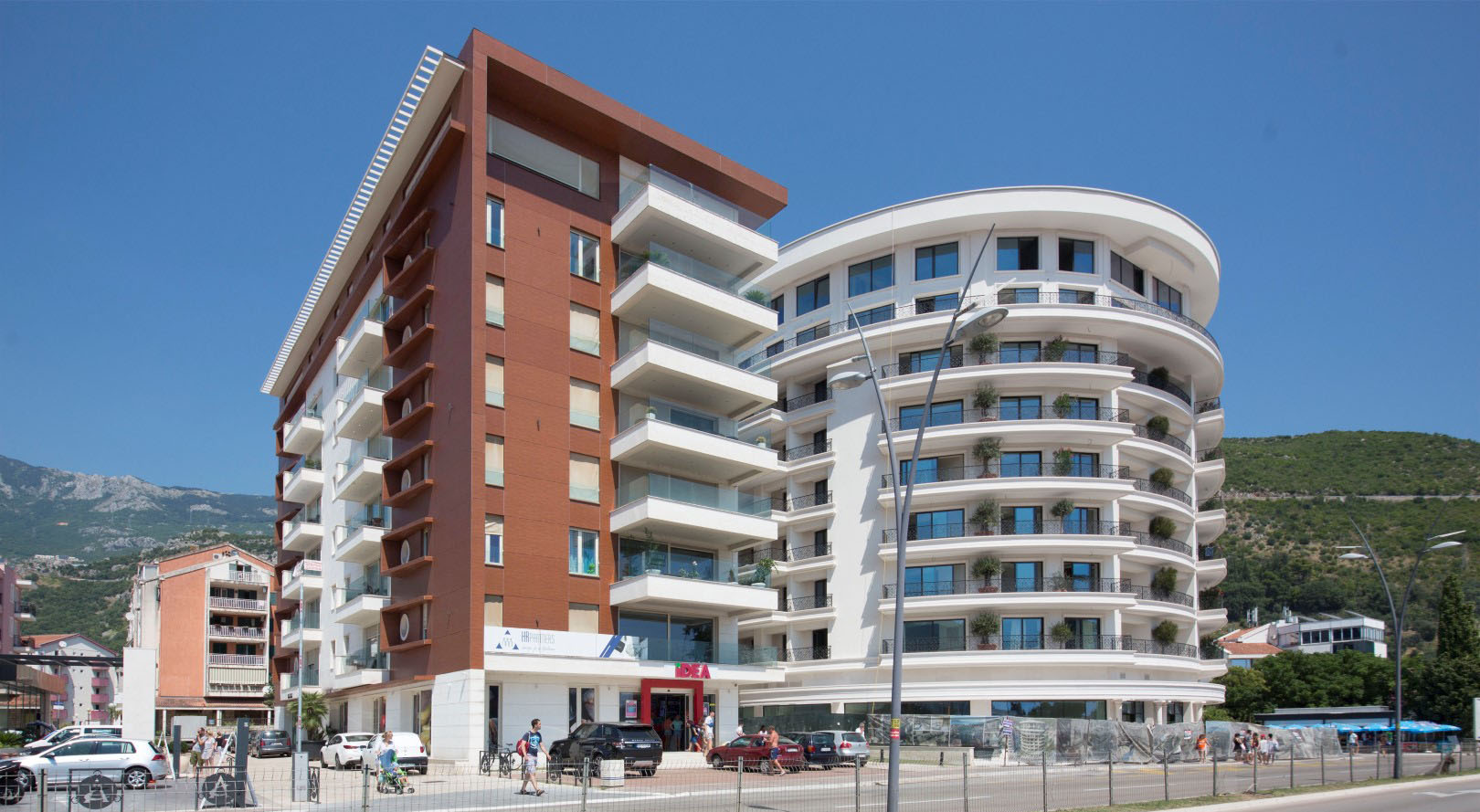 Budva, Boulevard – exclusive one bedroom apartment with sea view