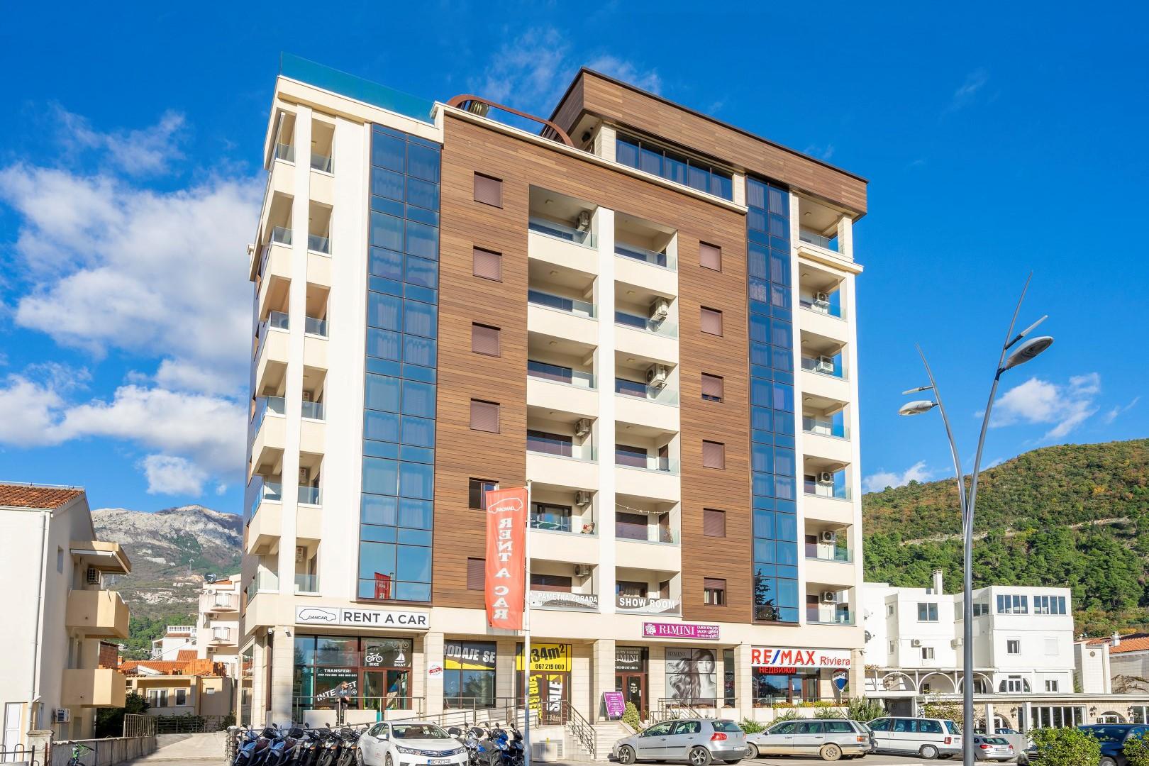 Budva, bulevar –namještenjednosoban apartman