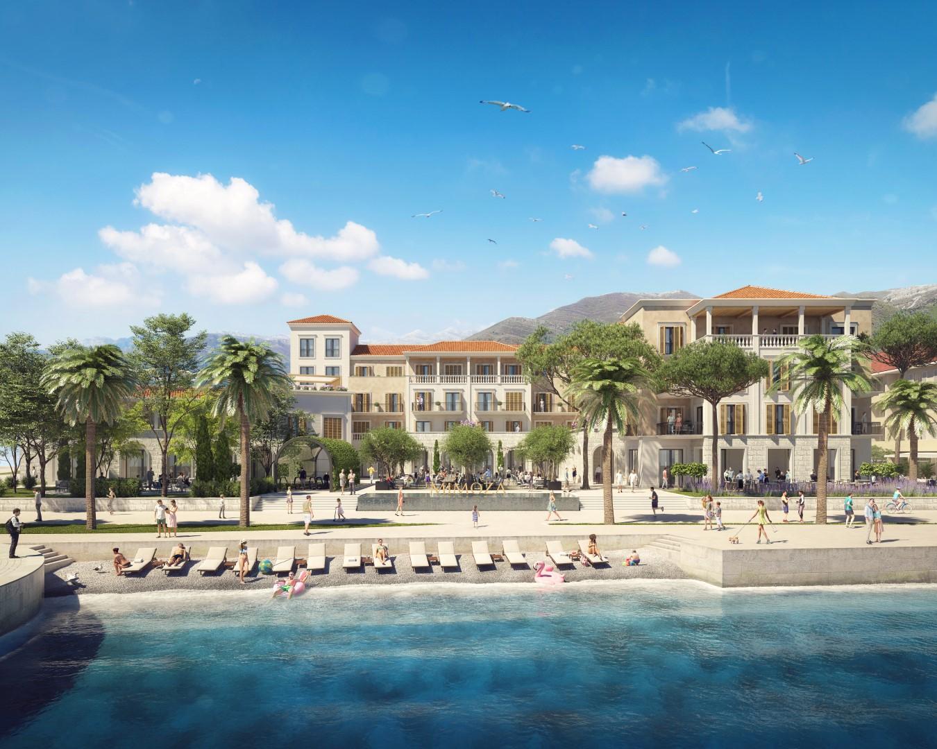 Tivat, centar – hotelski kompleks Mimoza