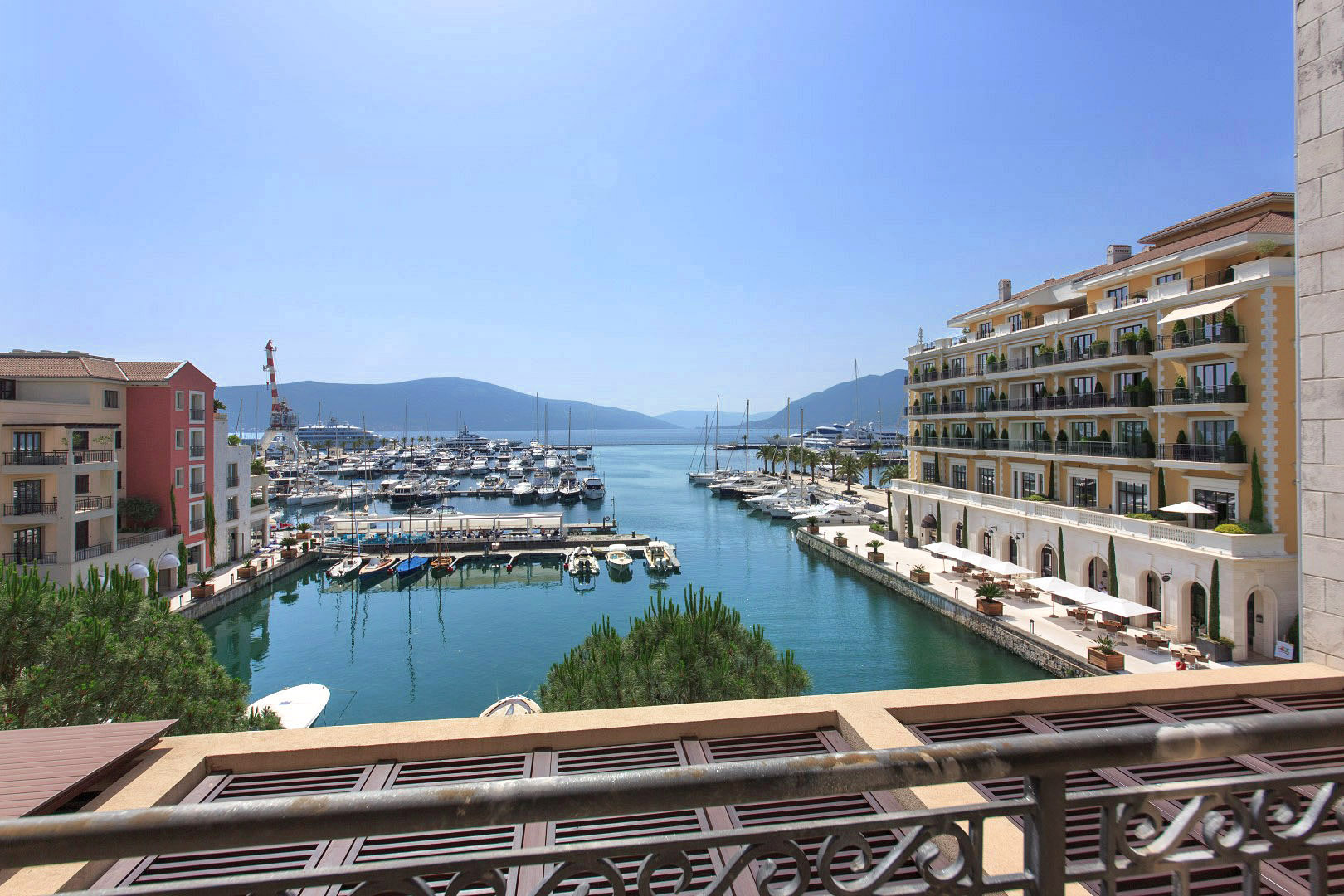 Tivat, Porto Montenegro – four-bedroom apartment with open view of the marina and the sea