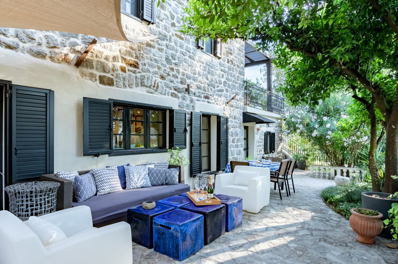 Tivat, Tripovici – authentic renovated stone house