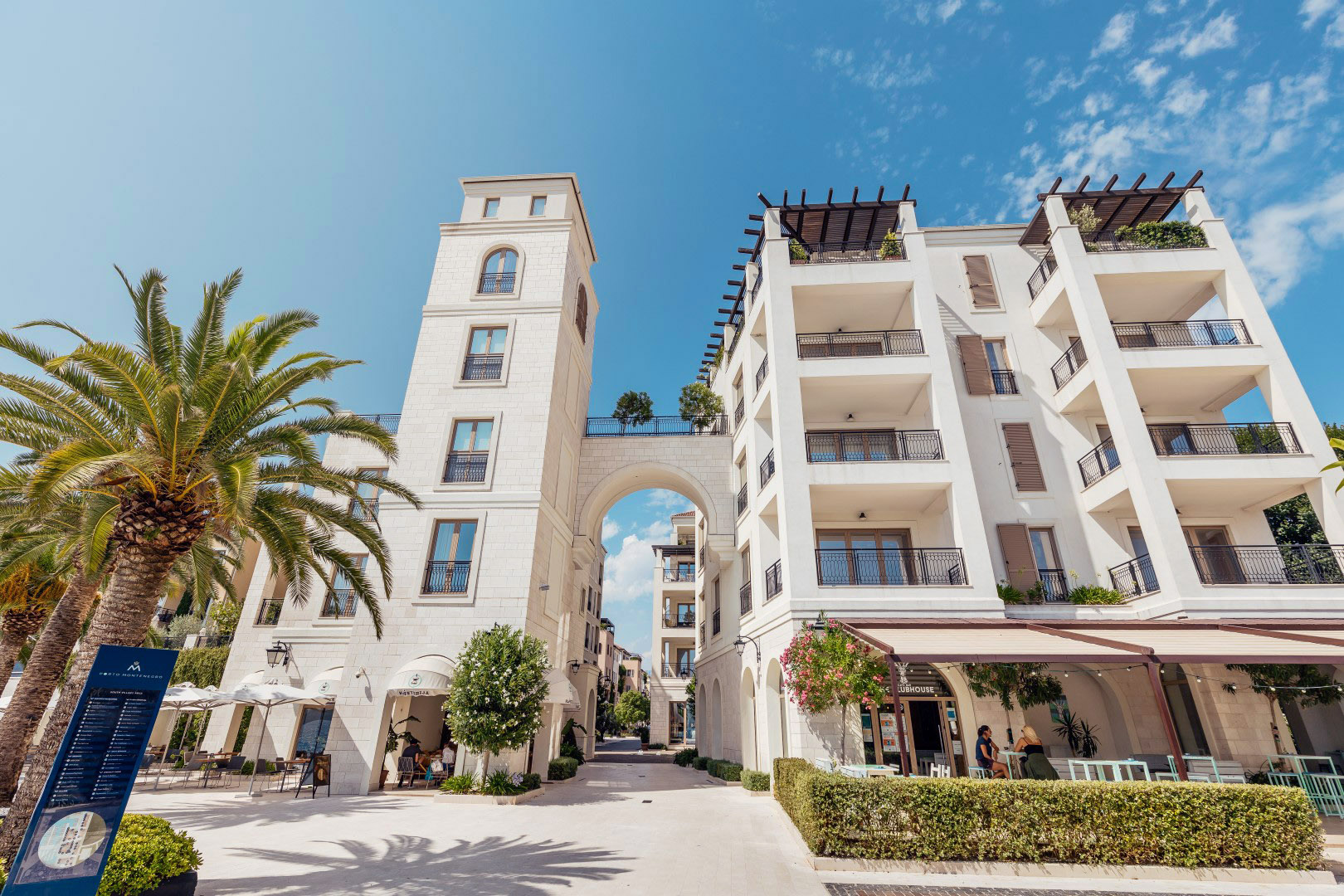Tivat, Porto Montenegro - two bedroom apartment with direct access to the pool