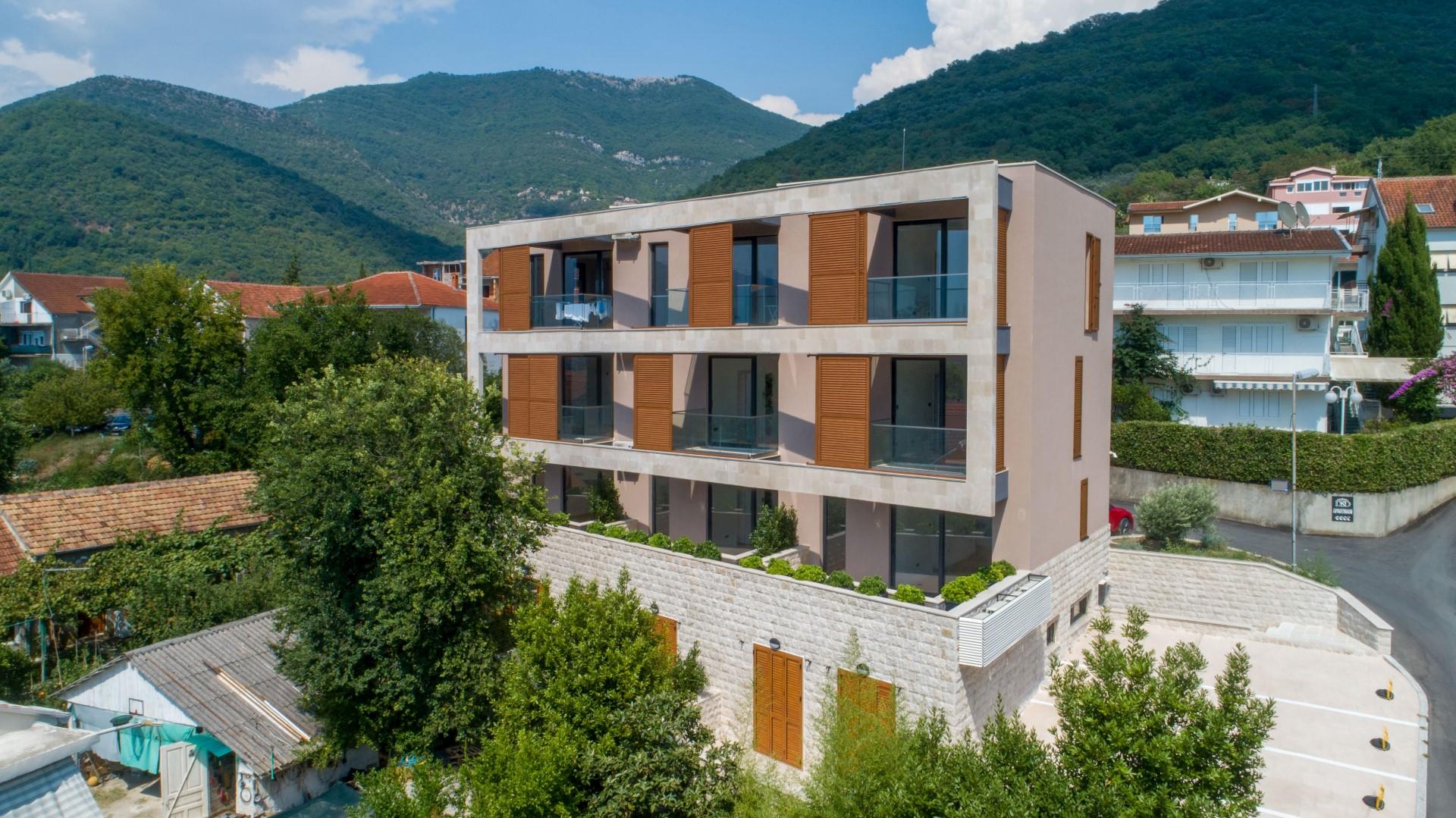 Tivat, Seljanovo – luksuzni apartmani u blizini kompleksa Porto Montenegro