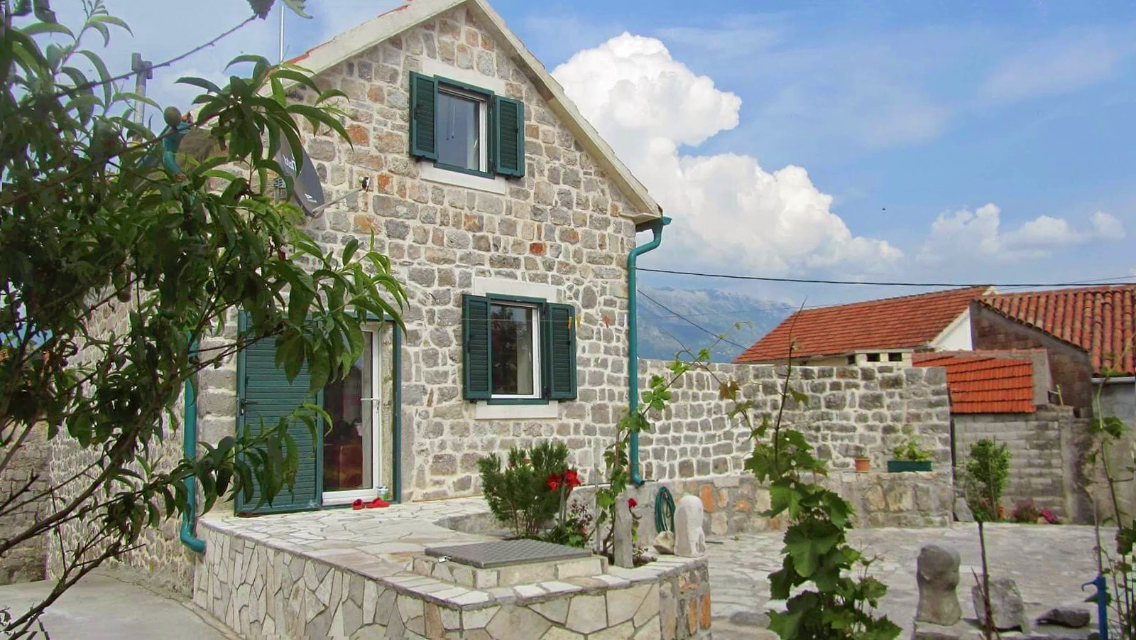 SOLD:   Tivat, Djurasevici – authentic renovated stone house
