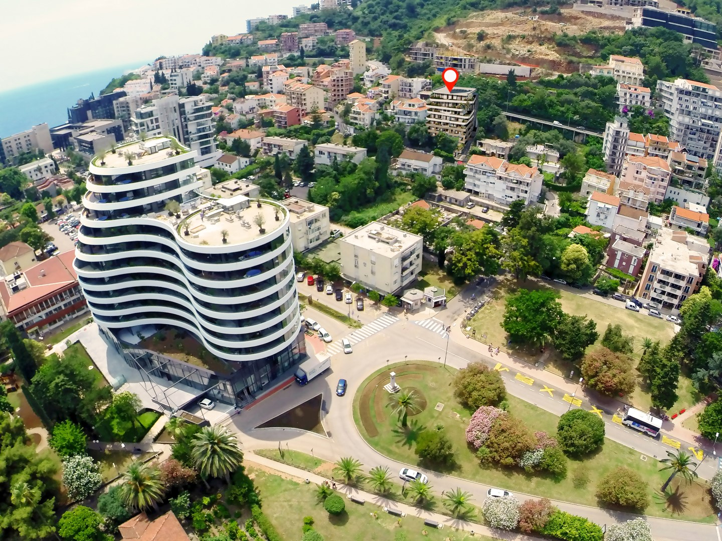 Budva, Gospostina – exclusive apartments with view of the sea and the Old Town