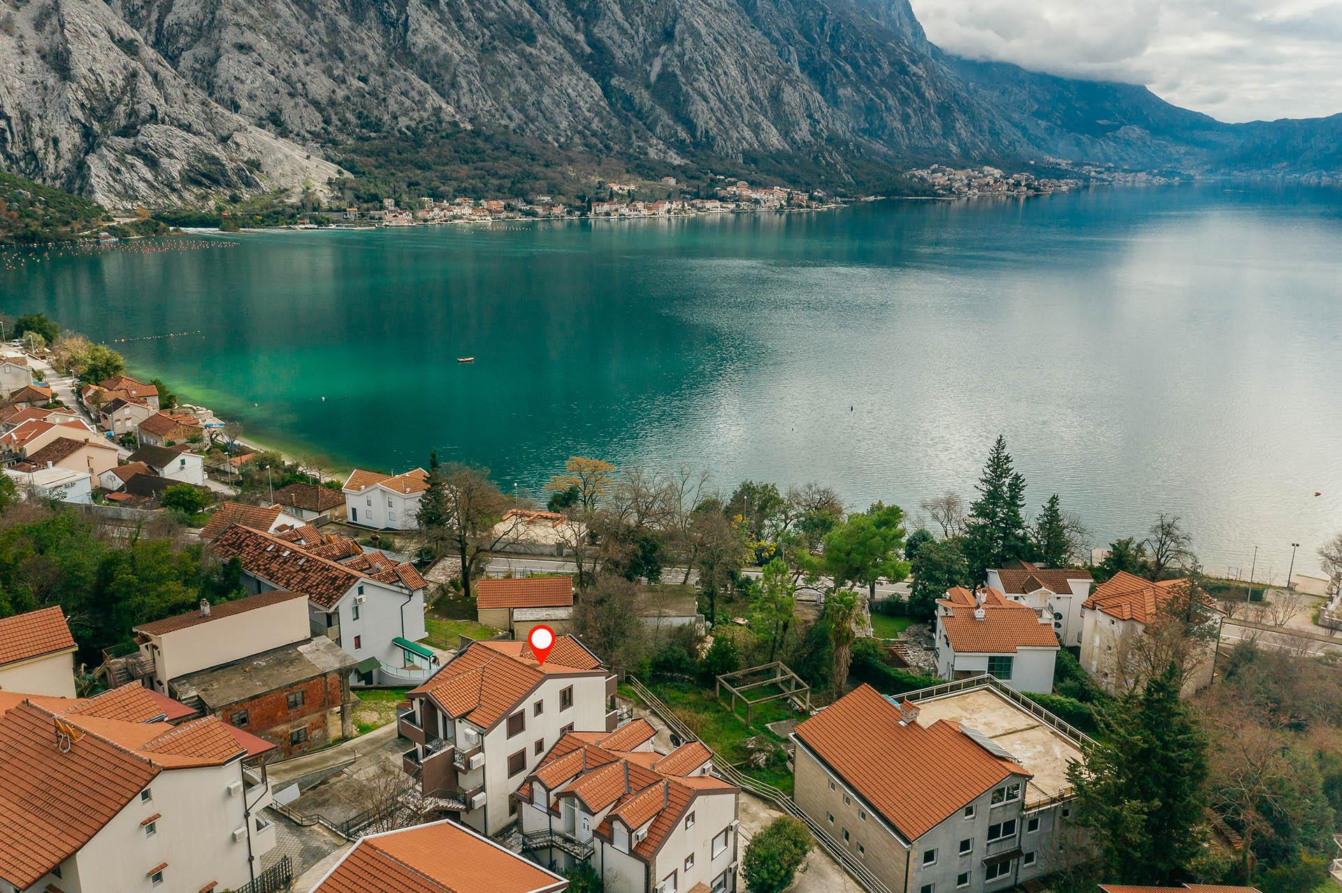 Kotor, Orahovac – novi dvosobni apartmani blizu mora