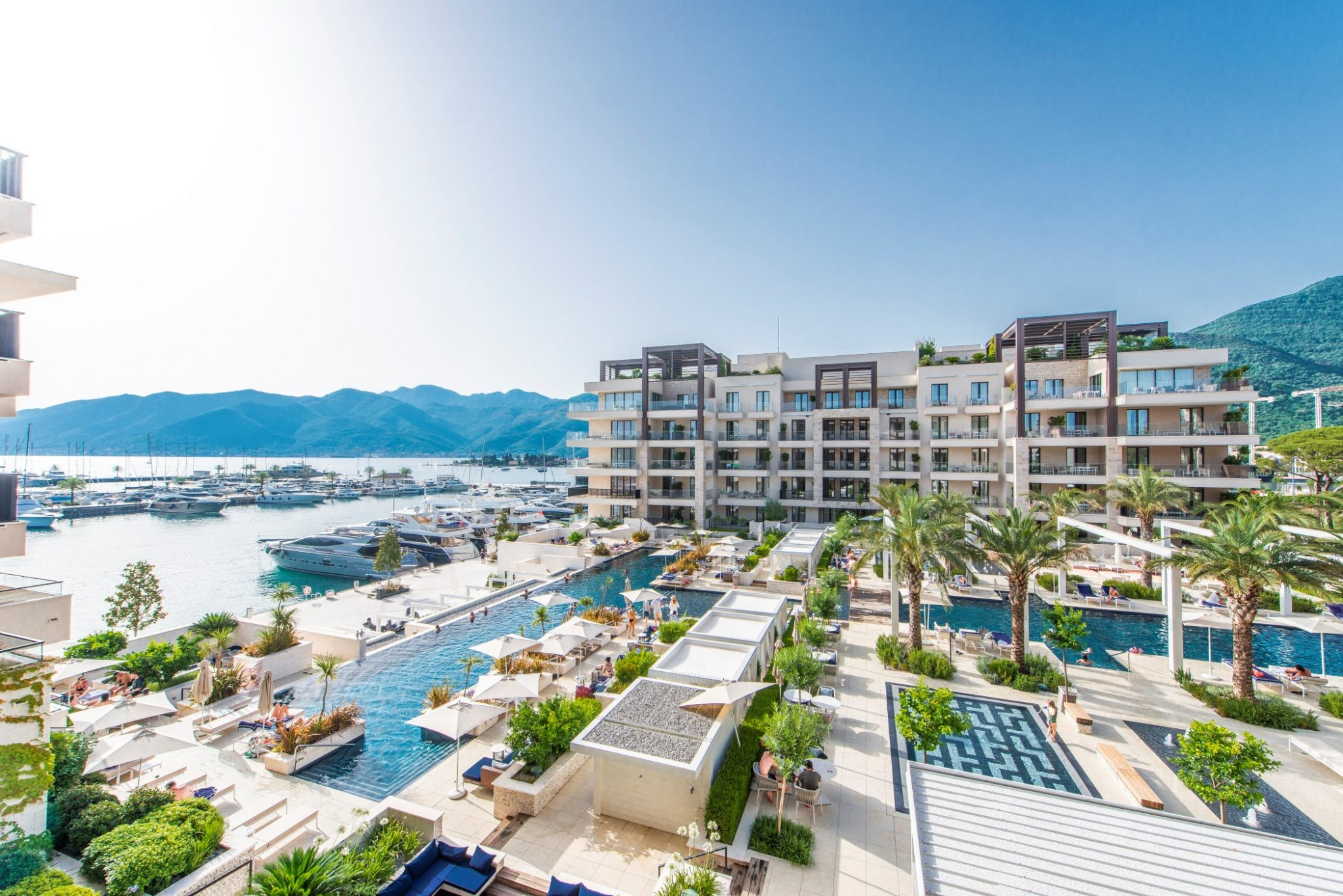 Tivat, Porto Montenegro – jednosoban apartman u zgradi Aqua